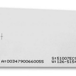 Cartão pvc impresso