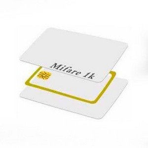 cartão pvc com chip
